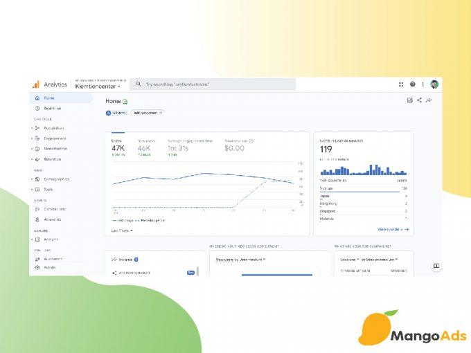 Giới thiệu phiên bản mới của Google Analytics