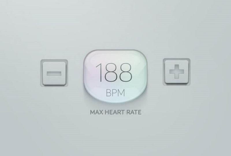 Hình 10: Max Heart Rate Stepper