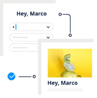 Ví dụ về cá nhân hóa trong email