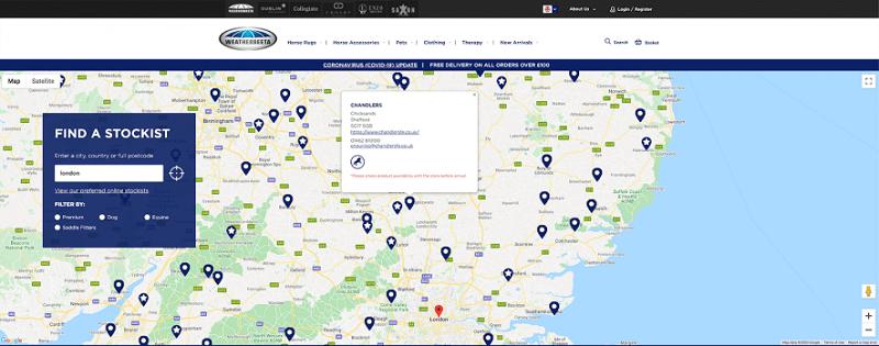 Hình 7: Doanh nghiệp được gắn tên và link trên web của nhà cung ứng