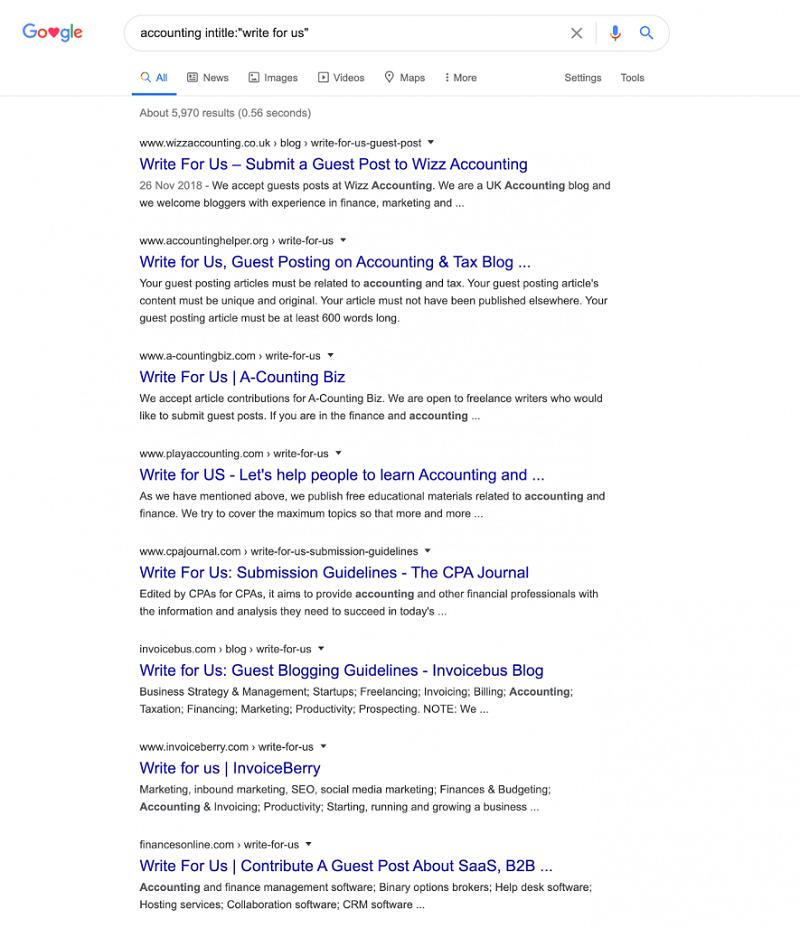 Hình 10: Kết quả tìm kiếm trả về với nhiều website tìm kiếm sự đóng góp