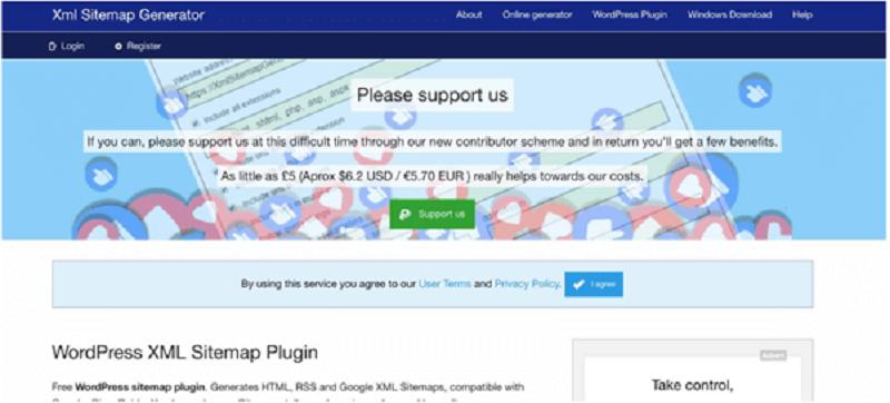 Hình 10: Công cụ XML Sitemap Generator