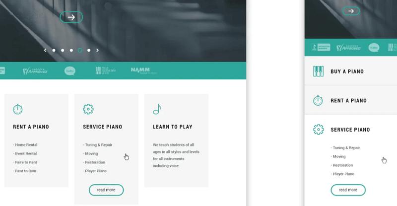 Bên dưới phần ảnh full màn hình, thiết kế này cho phép người dùng thu gọn và mở rộng nội dung chi tiết.