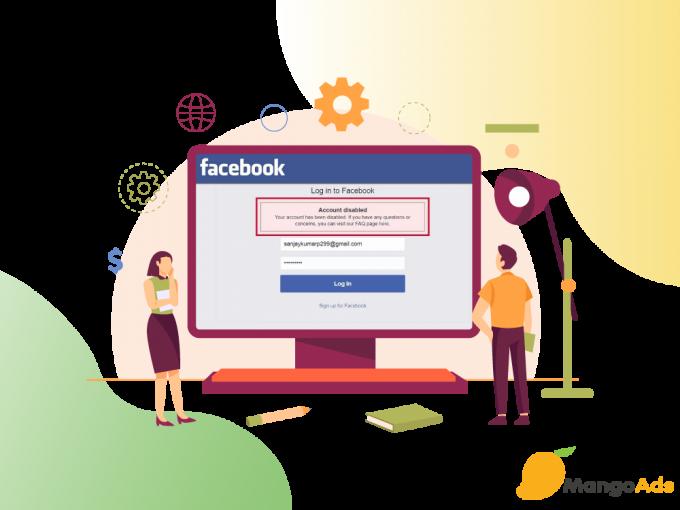 Giải quyết như thế nào nếu tài khoản Facebook bị vô hiệu hóa?