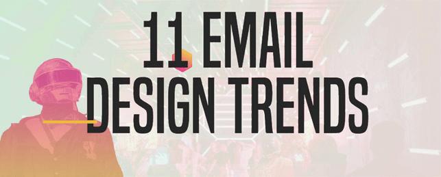 Hình 18: Xu hướng thiết kế email