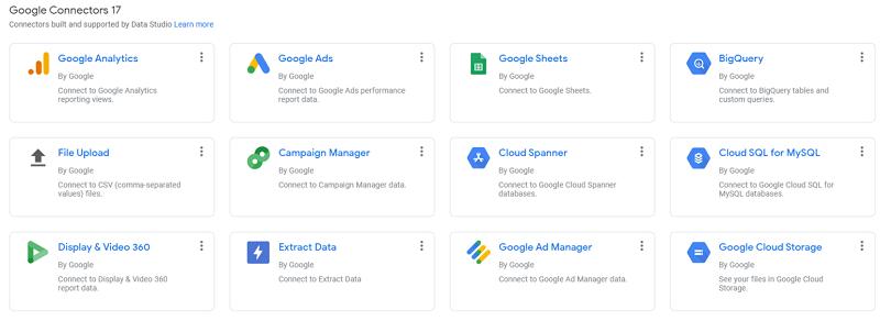 Hình 5: Chọn liên kết tới Google Analytics làm ví dụ