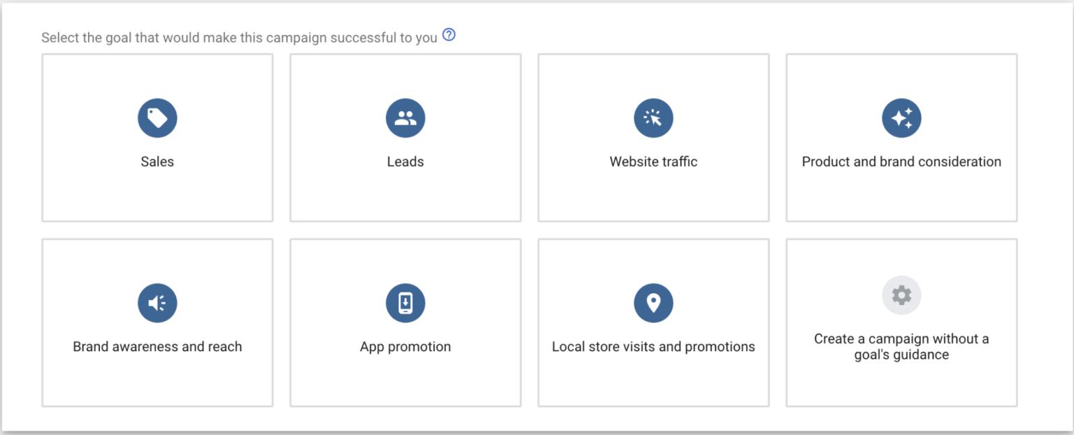 Hình 10: Chọn loại quảng cáo để chạy Quảng cáo tìm kiếm động