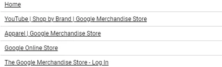 Hình 7: Các URL dữ liệu