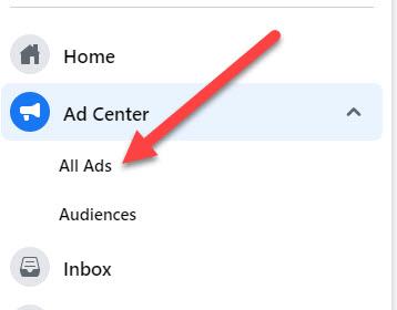 Cách tìm ID của tài khoản quảng cáo