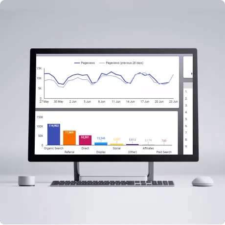 Data Studio giúp bạn phân tích thông tin từ nhiều nguồn dữ liệu