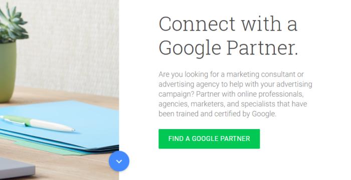 Hình 15: Cách tìm kiếm các đối tác của Google