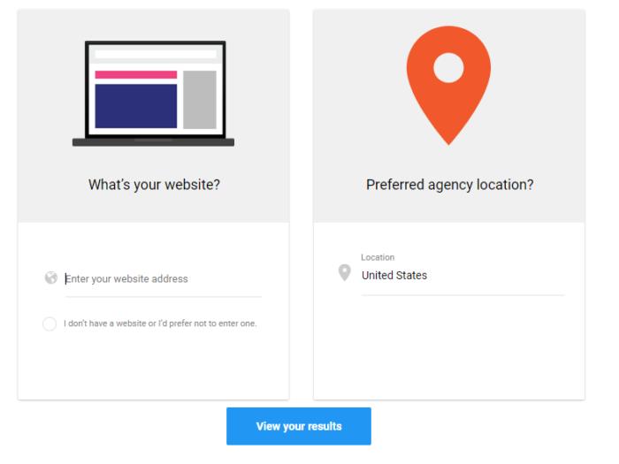 Hình 17: Tìm kiếm agency dựa trên vị trí của doanh nghiệp mình