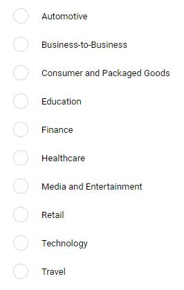 Hình 19: Khách hàng có thể lọc danh sách theo lĩnh vực chuyên môn họ cần