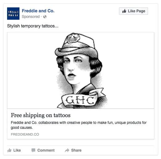 Hình 2: Mô tả quảng cáo có thông điệp chung chung