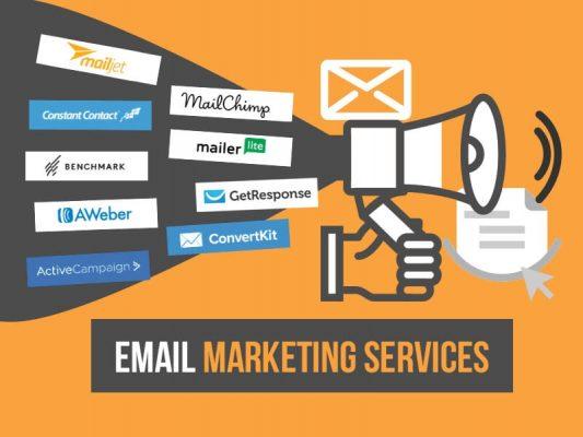 Các nhà cung cấp dịch vụ email marketing