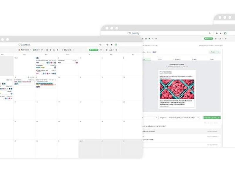 Loomly giúp bạn lên lịch trình xuất bản và lập kế hoạch nội dung