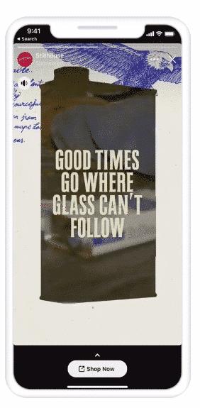 Hình 13: Ví dụ về story ads