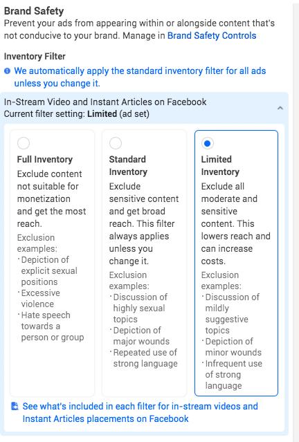 Hình 20: Ngăn chặn các nội dung nhạy cảm