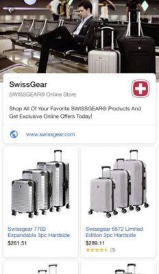Google mở rộng và hiển thị chi tiết khi nhấn vào quảng cáo