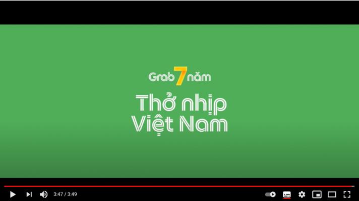 Câu chuyện thở nhịp Việt Nam của Grab