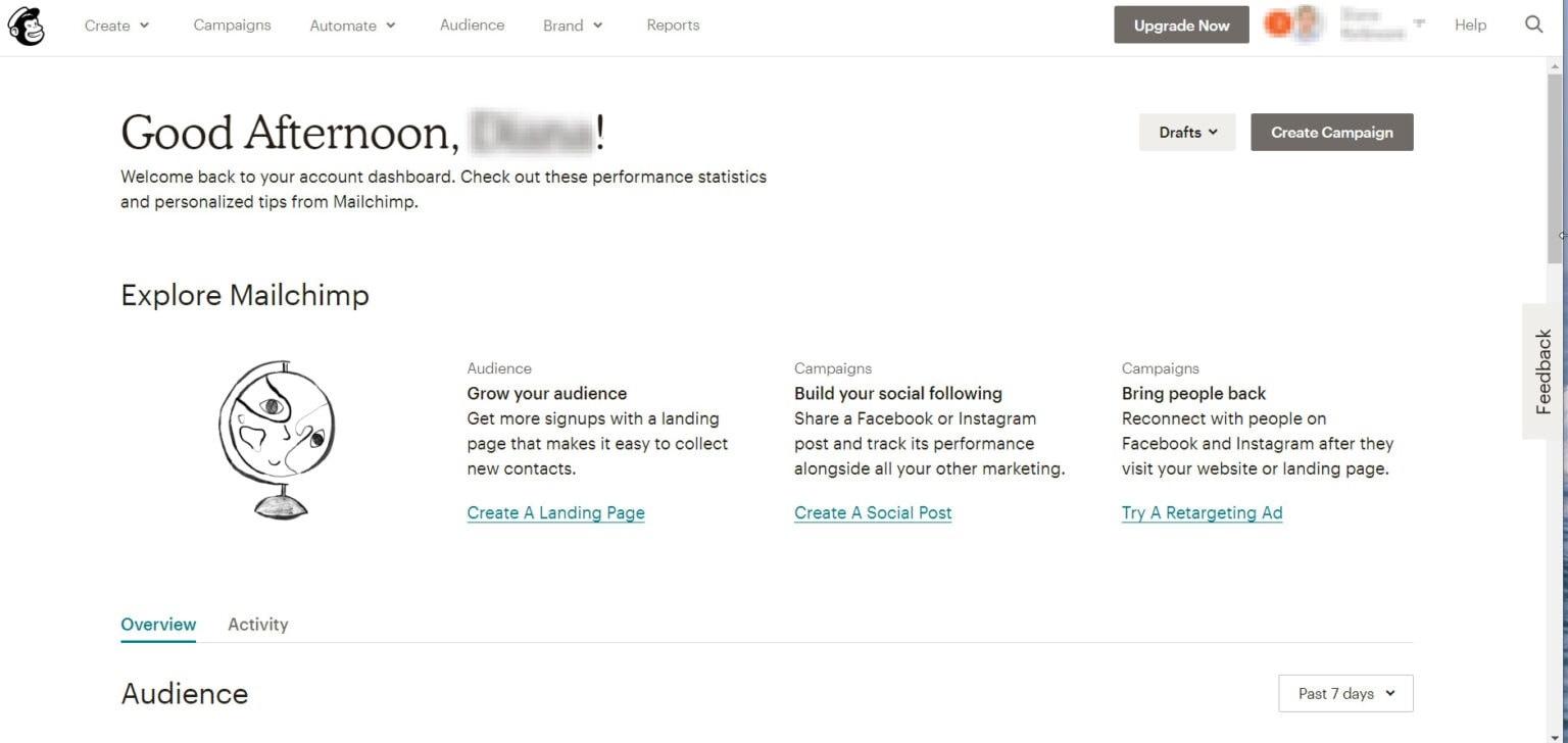 """Hình 5: Mailchimp là công cụ """"quốc dân"""" cho Email Marketing"""