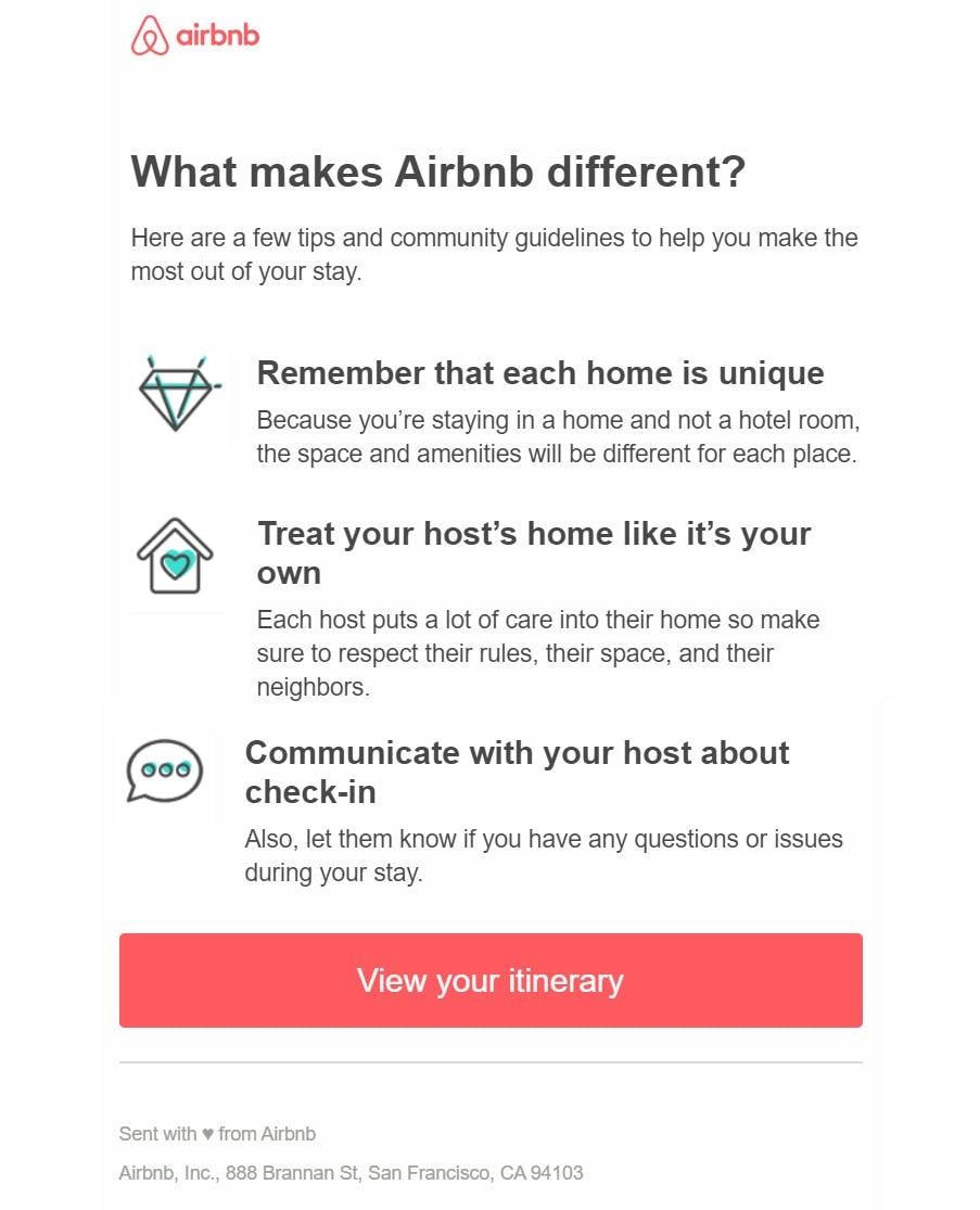 Hình 14: Transactional email của Airbnb
