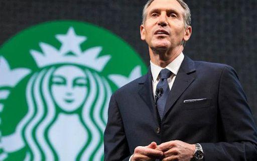 Giám đốc điều hành Starbucks Howard Schultz