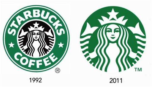 Logo của Starbucks sau khi thiết kế lại vào năm 2011
