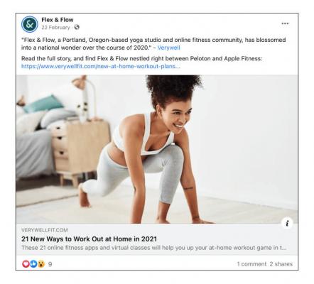 Flex&Flow chia sẻ một thành tựu lớn với follower